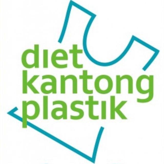 Ilustrasi stop penggunaan kantong plastik. Foto: Instagram/dietkantongplastik