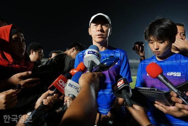 Shin Tae yong, pelatih Timnas Garuda (Foto Hankook Ilbo).