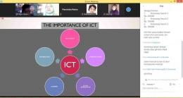 Pentingnya Perangkat ICT dalam kehidupan kita sehari-hari, sangat berhubungan dengan bahasa internasional, bahasa Inggris. sumber: dokpri