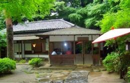 Rumah Tua Tempat Upacara Minum Teh Ala Jepang di Happoen Garden   Koleksi Foto Iffat Mochtar
