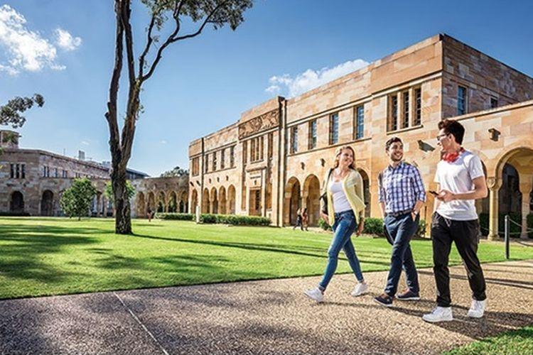 The University of Queensland| Dokumentasi JACK Study Abroad via Kompas.com