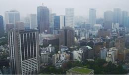 Pemandangan Kota Tokyo dari Atas Tokyo Tower   Koleksi Foto Iffat Mochtar