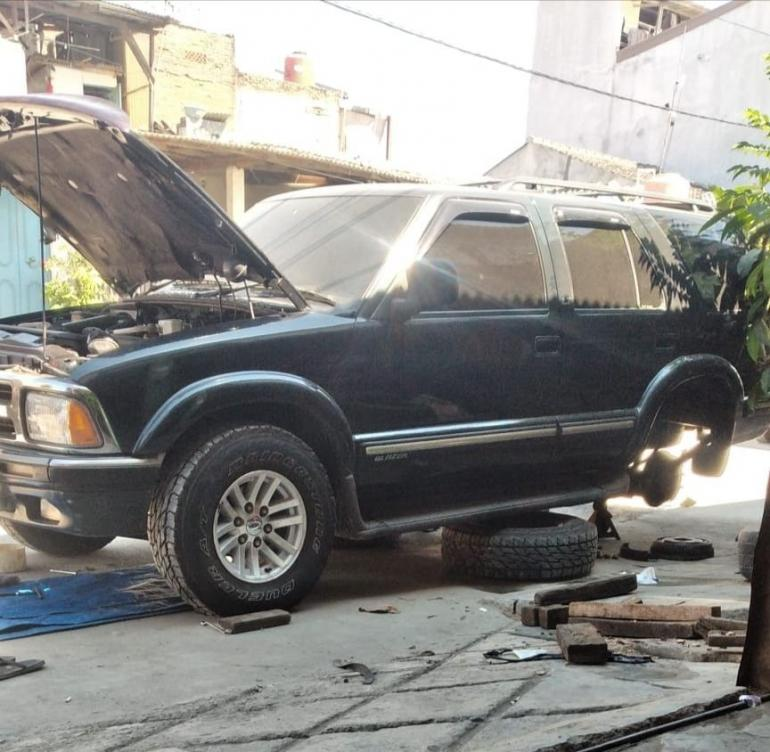 Opel Blazer bekas (Dokpri)