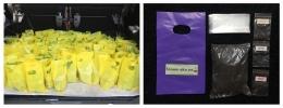Bibit dan paket menanam sayuran yang dibagikan kepada masyarakat (dokpri)