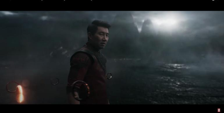 Shang-Chi dalam rilis trailer barunya. Sumber : Marvel Entertainment