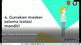 Video Sosialisasi dan Edukasi -Dok. pribadi