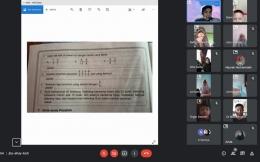 Screenshoot situasi pendampingan pembelajan daring/dokpri