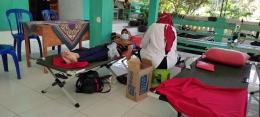Dokumentasi Pribadi KKN UM 2021. Donor Darah