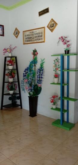Foto produk UMKM bunga stocking (dokpri)