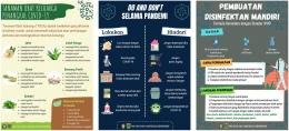 Gambar E-Poster Edukasi Online Pencegahan COVID-19 dari Klaster Keluarga (Dokpri)