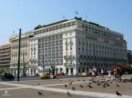 Hotel Grande Bretagne-Athena. Sumber: dokumentasi pribadi