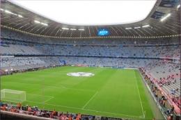 Stadion markas Bayern Munchen, credits : Ligalaga