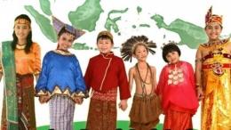 Ilustrasi anak-anak menyanyikan lagu daerah. Gambar: siedoo.com