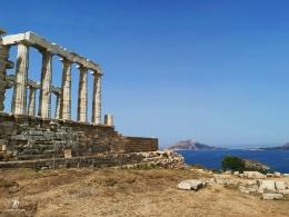 Kuil Poseidon, kuil sang Dewa Lautan. Sumber: dokumentasi pribadi