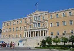 Old Royal Palace (Greek Parliament), Athena. Sumber: dokumentasi pribadi