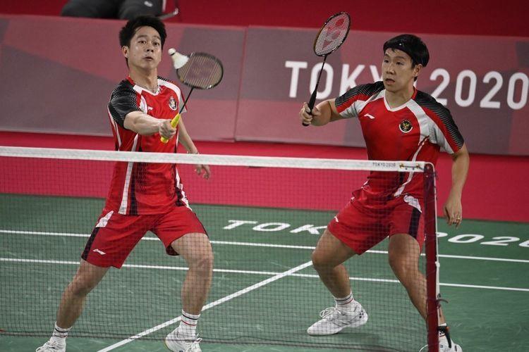 Kekalahan Markus/ Kevin di Olimpiade Tokyo 2020 bukan untuk disesali tapi justru disyukuri (AFP/ kompas.com)