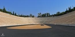 Panathenaic Stadium, venue Olimpiade modern pertama di Athena. Sumber: dokumentasi pribadi