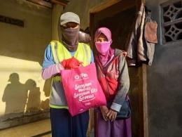 Pak Ogah dan istri/PPPA Darul Quran