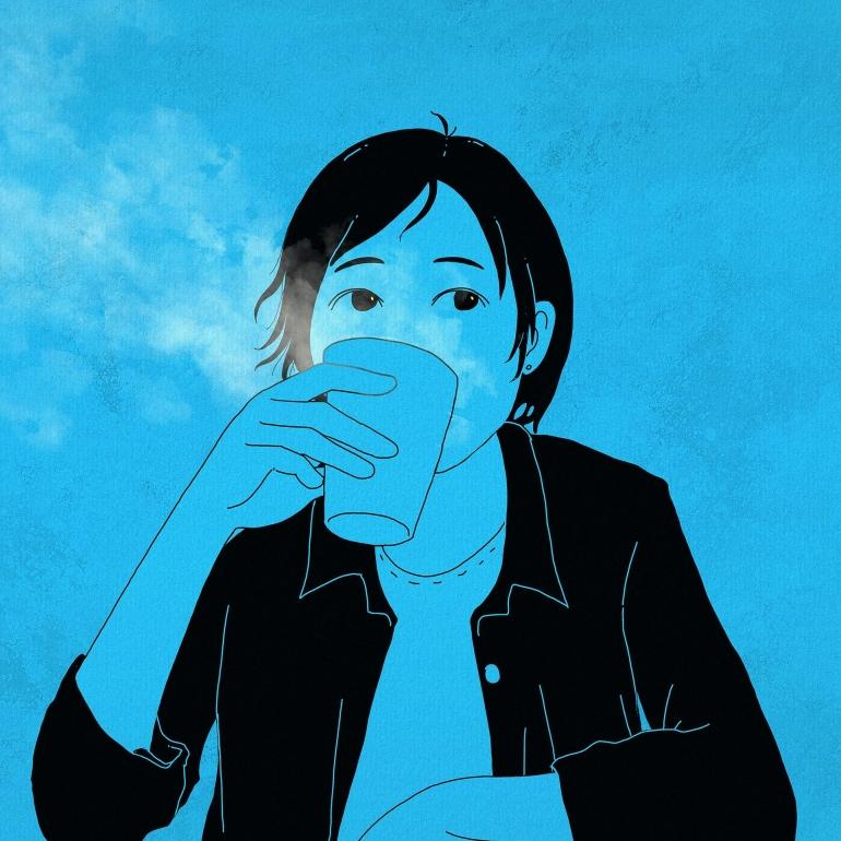 Ilustrasi seseorang menikmati minuman hangat (Gambar: CDD20 Via Pixabay)