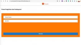 Tampilan website palsu (sumber : deddyhuang.com)