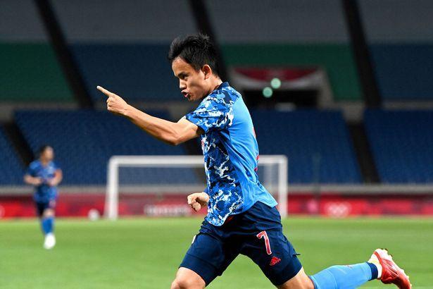Takefusa Kubo, bintang muda timnas Jepang. (via Getty Images)