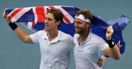 Marcus Daniell dan Michael Venus berhasil membawa penghargaan untuk cabor tenis bagi Selandia Baru (Tennis Majors)