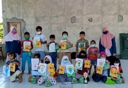 Foto bersama anak-anak kelurahan Bendan Duwur RW 06/dokpri