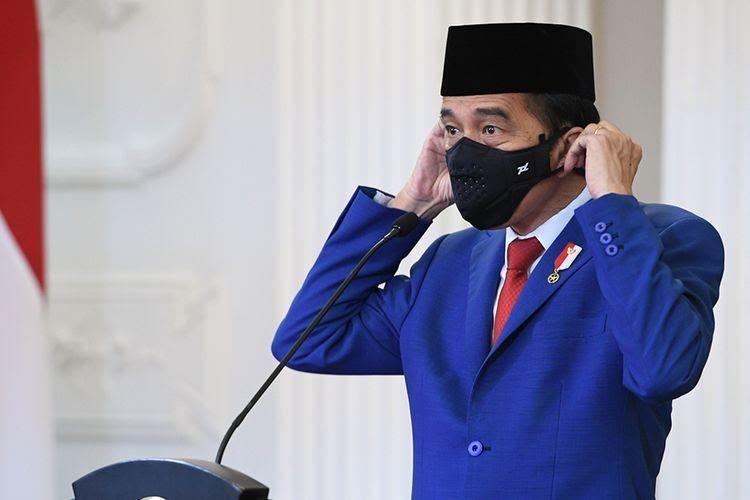 Ilustrasi Pidato Jokowi (Antara Foto/HO/ Kemenlu, Via Kompas)