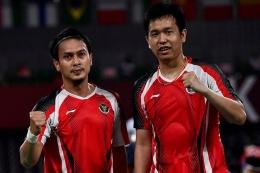 Ganda putra Indonesia Mohammad Ahsan/Hendra Setiawan, sumber gambar kompas.com
