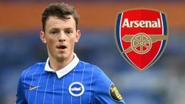 Arsenal berhasil merekrut Ben White dari Brighton. Sumber foto: Getty Images via Goal.com