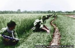 Malang 1947 recolor by Anang Wahyudi sumber KITLV Leiden - Nederland