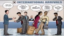 Ilustrasi di sebuah bandara internasional (gambar:Kjog/Dita)