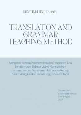 Modul Materi Progja KKN Pertama Tentang Pelatihan Penerjemahan dan Pengajaran Tata Bahasa Inggris (10 halaman)/dokpri