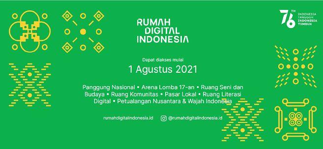 Foto layar laman depan RumahdigitalIndonesia (Dok. Pri)