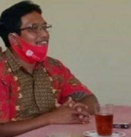 Kepala Dusun II Warsono Memberikan Sambutan atas nama Kades Sudarno/dokpri