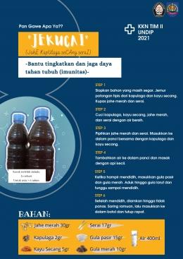 Gambar 3. Poster JEKUCAI/dokpri