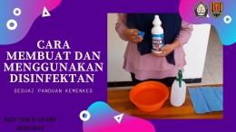 Video Pembuatan Desinfektan