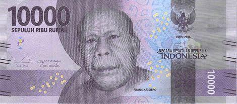 Uang kertas pecahan Rp 10.000 (dok. astawa.co.id)