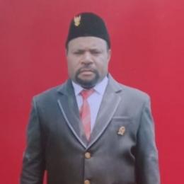 Markus Walilo, Ketua DPR Kabupaten Yalimo (Sumber : Dokpri)