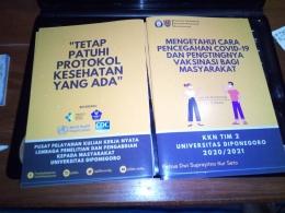 Booklet yang siap untuk dibagikan kepada warga sekitar (Dokumen pribadi)