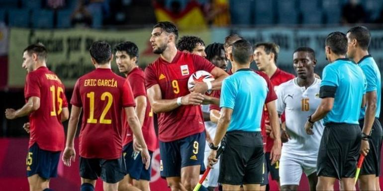Laga Spanyol vs Pantai Gading. Foto: AFP/PHILIP FONG dipublikasikan kompas.com
