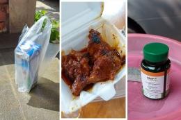 Selain Tim Satgas Keluarga, kami juga diperhatikan oleh Pemkot, RT, dan warga kompleks dengan memberikan susu, makanan, dan vitamin.