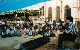 Penampilan Mas Andre Manika di MAM Gema 1998/Dokpri