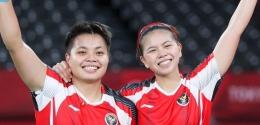 Greysia Polii/Apriyani Rahayu: badmintonindonesia.org