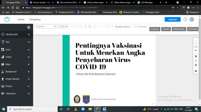 Pembuatan Booklet Online