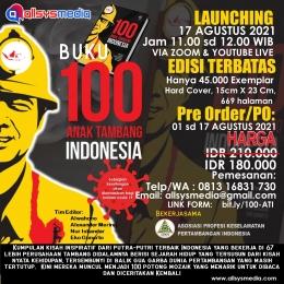 Flyer Buku 100 Anak Tambang Indonesia ( 100 ATI )