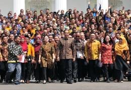 Jambore PKH di istana negara Doc: setkab.go.id