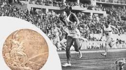 Jesse Owen di ajang Olimpiade Berlin 1936. Sumber: insidethegames.biz