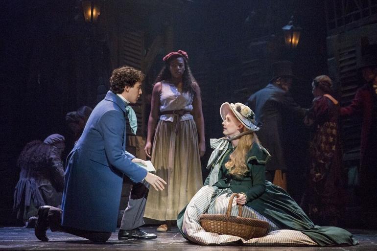 Foto drama Les Miserables selama turnya di Broadway, Sumber Gambar: brodway.org
