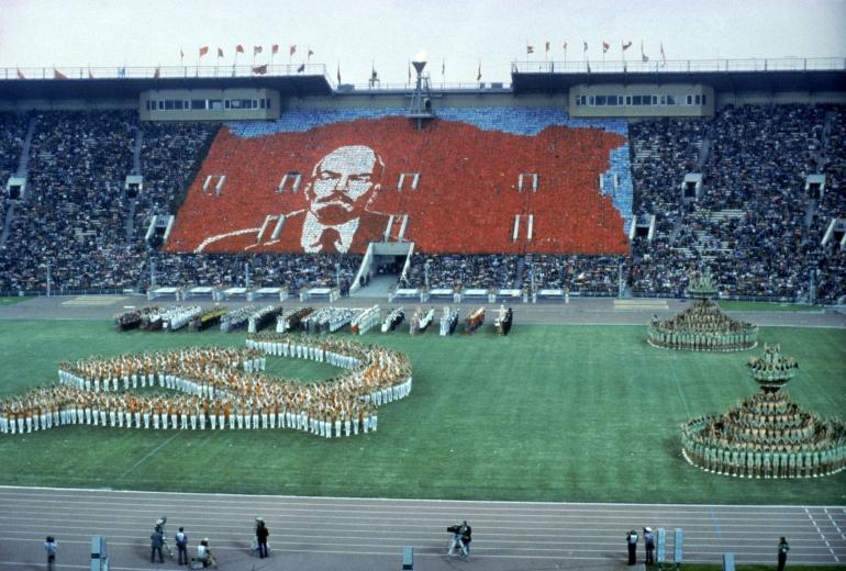 Pembukaan Olimpiade Moskwa yg diboikot AS dan negara sekutunya. Sumber: Getty Images/ www.insidethegames.biz